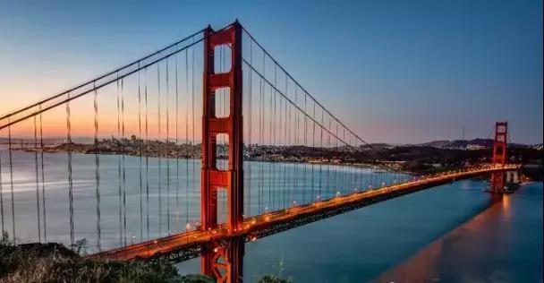 BIM建模的大桥