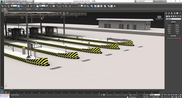 3ds Max模型界面
