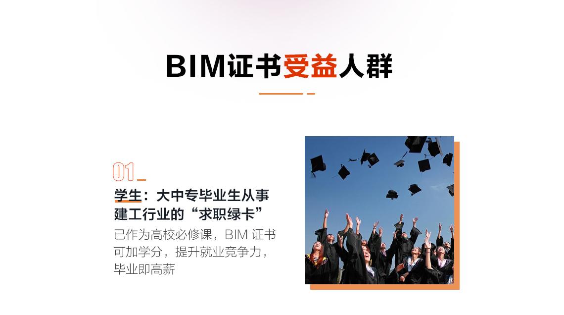建筑人为什么要考BIM证书 政策支持与鼓励 个人能力的证明 用于企业招标 用于高校加分 行业求职绿卡 有助于升职加薪