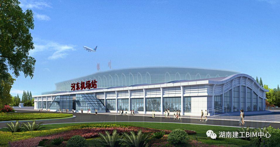 银川河东机场高铁站项目
