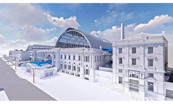伦敦奥林匹亚展览中心的BIM模型