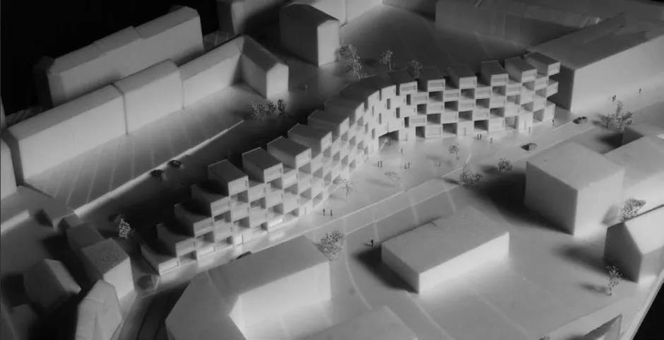 BIG哥本哈根东区居民住宅项目的早期概念模型