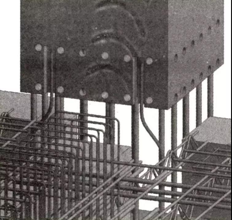 装配式建筑防雷引下线施工效果图