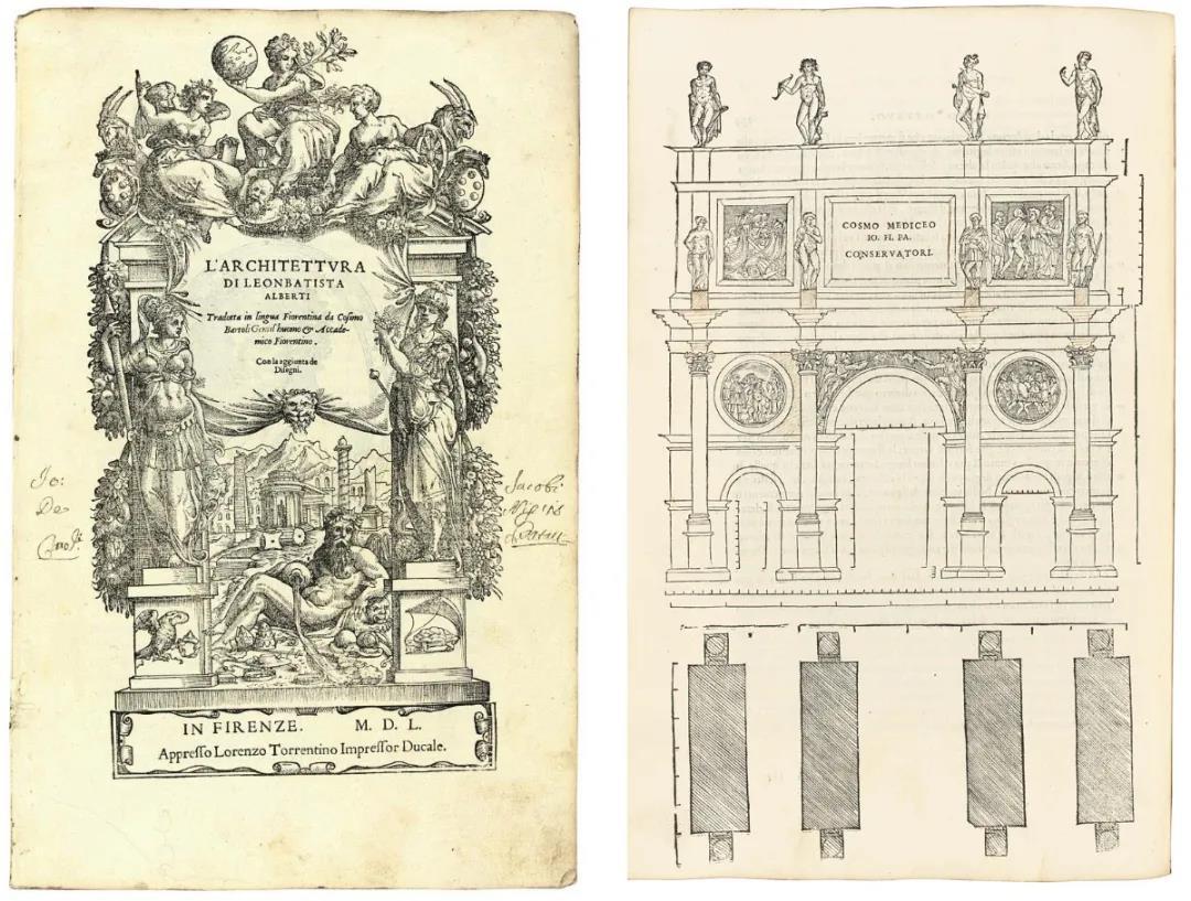 阿尔伯蒂 《L'Architettura》第一本印刷的建筑理论和作品