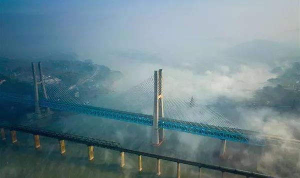 BIM应用案例:新白沙沱长江特大桥钢梁架设