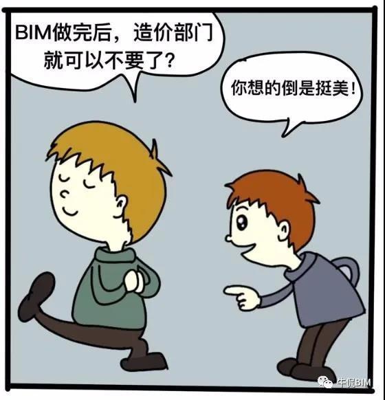 误区:有了BIM以后,造价直接就出来了