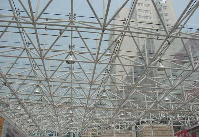 钢结构网架吊装
