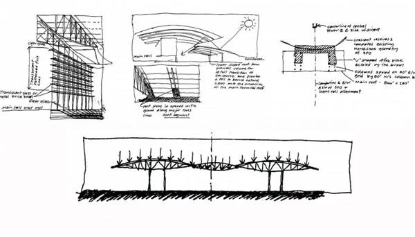 候机大厅建筑结构