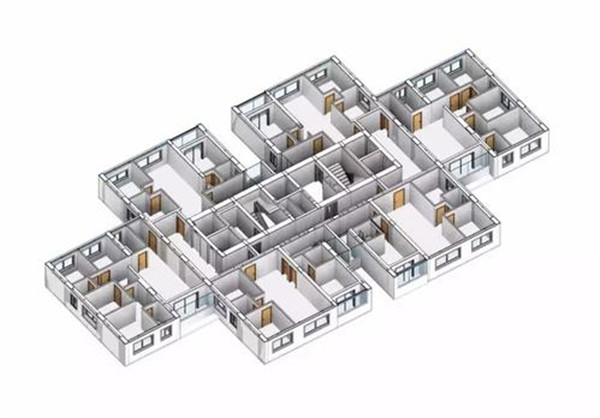 BIM建筑模型
